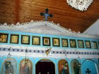 Κάστρο Ναυπάκτου, το εσωτερικό της εκκλησίας του Προφήτη Ηλία