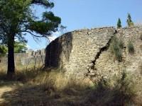 Κάστρο Ναυπάκτου, διάζωμα στην κορυφή