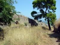 Κάστρο της Ναυπάκτου, κορυφαίο διάζωμα