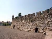 Nafpaktos Port: Exterior View of Walls