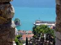Nafpaktos Port as seen from the Castle