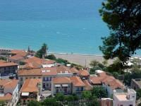 Nafpaktos City as seen from the Castle.