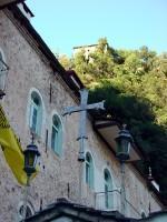 Ιερά Μονή Προυσού: Ακόμα μία άποψη του νέου κτιρίου