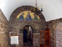 Είσοδος την Εκκλησία της Παναγιάς Προυσιώτισσας