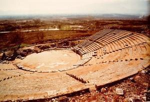 Kavala Philippi Ancient Theater