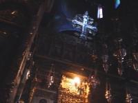 Το εσωτερικό της εκκλησίας της Παναγιάς Προυσιώτισσας