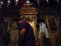 Το εσωτερικό της Κρύπτης στην εκκλησία της Παναγιάς της Προυσιώτισσας