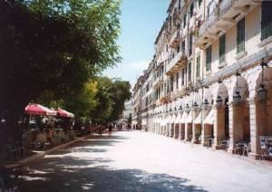 Corfu Main Street