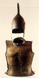 Αρχαιολογικό Μουσείο του Άργους: Χάλκινο κράνος και θώρακας