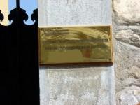 Plaka: 10 Polygnotos Street Sign