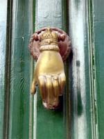 Plaka House Traditional Door Knocker