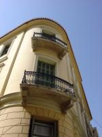 Aghia Philothei Street Building in Plaka, same one as on the previous photo