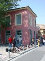 Pavement Merchants in Plaka