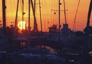 Kos Harbor Sunset