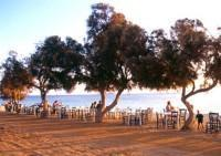 Naxos Beach at Sunset