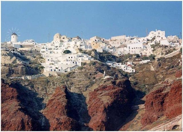 Santorini View of Oia