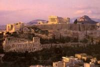Athens Acropolis at Sunset