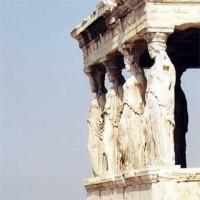 Athens Acropolis: The Erechtheion Karyatides