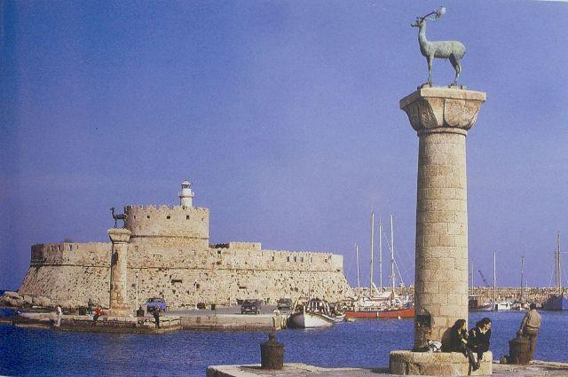 Rhodes Entrance to the Harbor