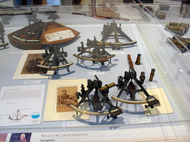 Galaxidi Nautical Museum: Navigational Instruments - Sextants