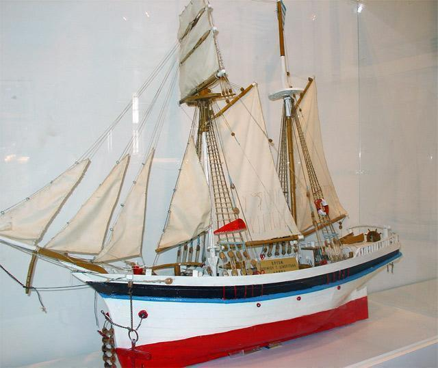 Galaxidi Nautical Museum: Sailing Ship Model