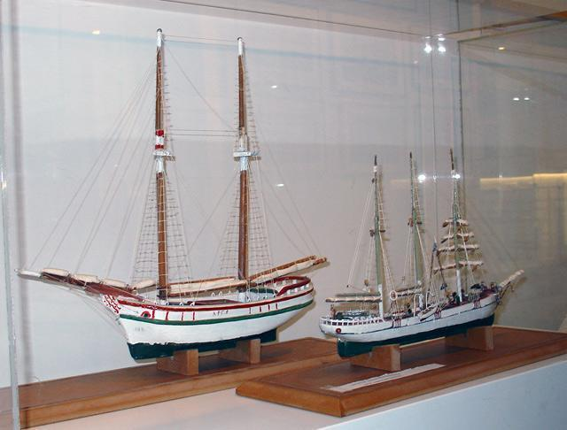 Galaxidi Nautical Museum: Sailing Ship Models