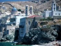 Syros Coast Mansions and Churches