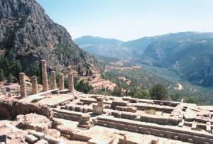 Delphi Temple of Apollon