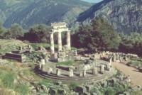 Delphi: Temple of Athena Pronaia and the Tholos